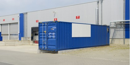 GPS Tracking Überwachung Lagercontainer